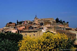 Aldeia de Roussilon, Provença