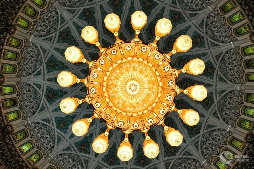 Lustre alemão na mesquita