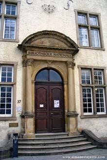 Biblioteca Nacional do Luxemburgo