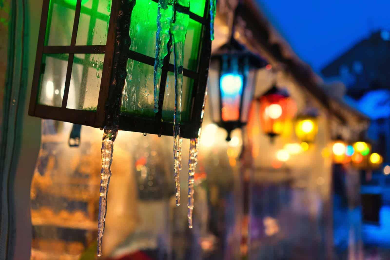 Luzes de Natal em Riga, Letónia