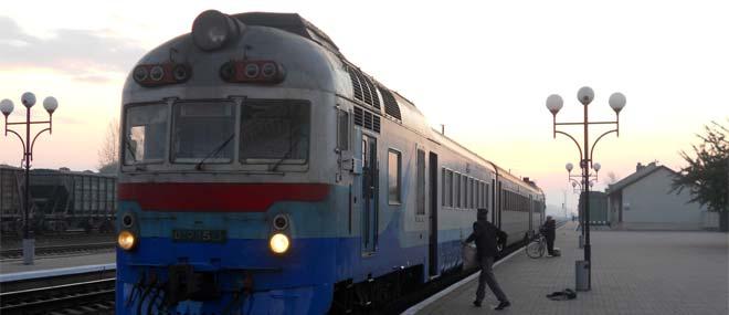 Treni in Ucraina
