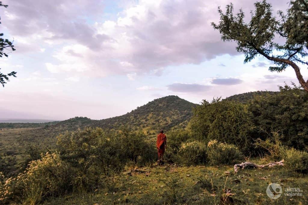 タンザニアのマサイ