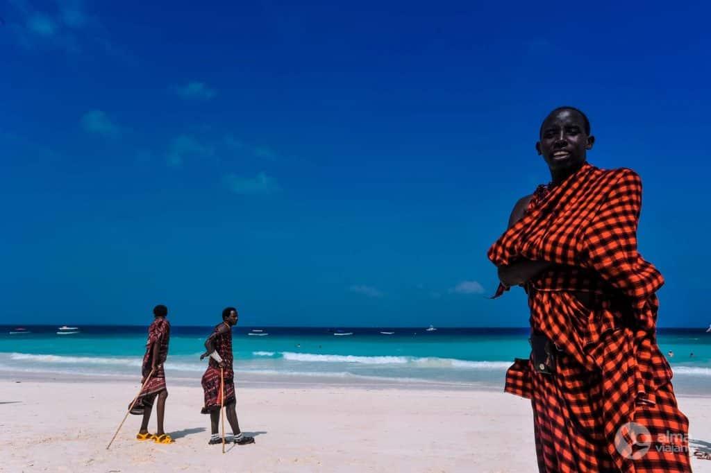 Maasai em Nungwi