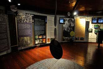 Interior do Museu Sacaca, em Macapá
