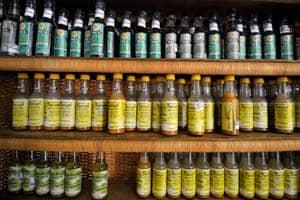 Produtos regionais à venda na Casa do Artesão, Macapá