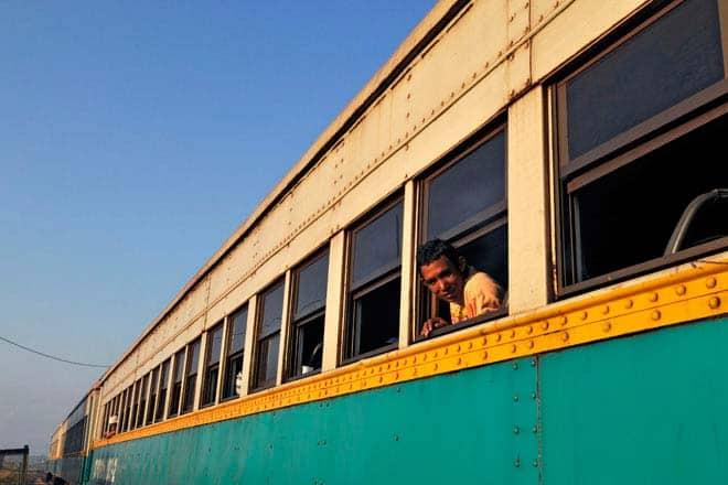 Trem no Macapá