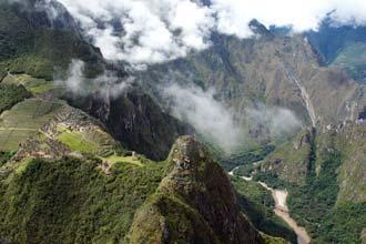 Machu Picchu séð frá Wayna Picchu
