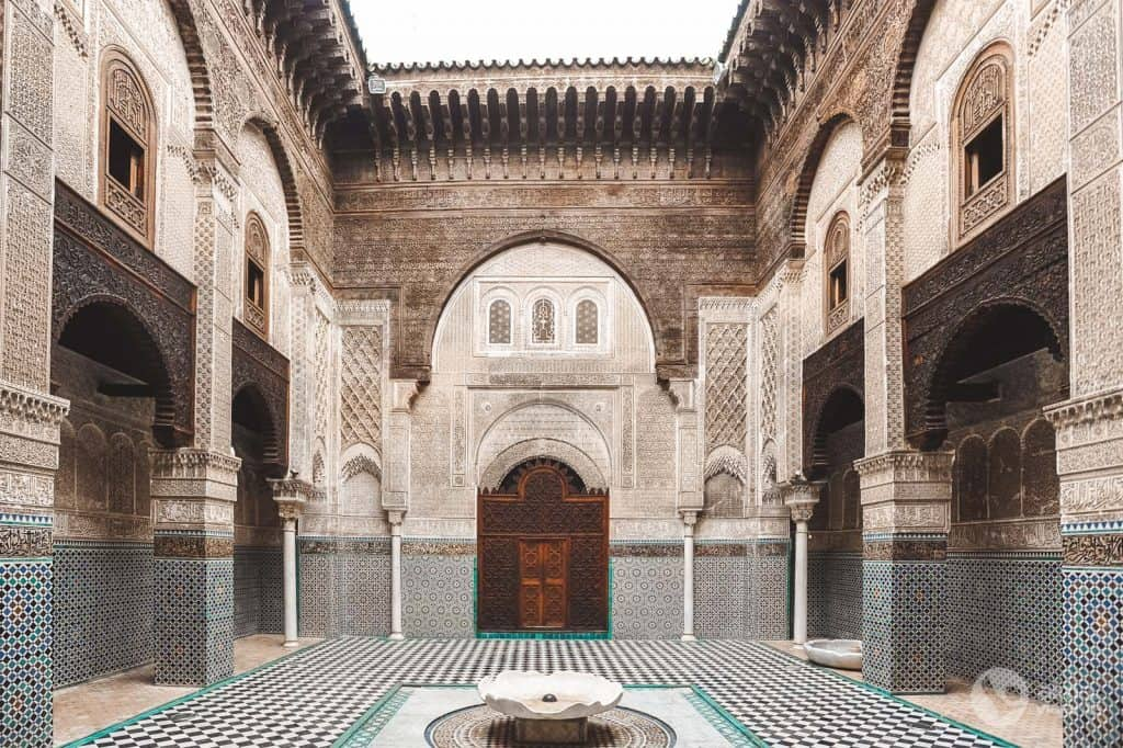 Things to do in Fez: visit Madraça Bu Inania
