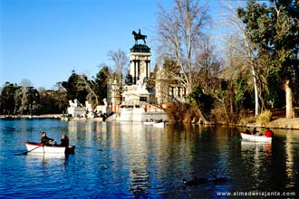 Parque do Retiro, em Madrid