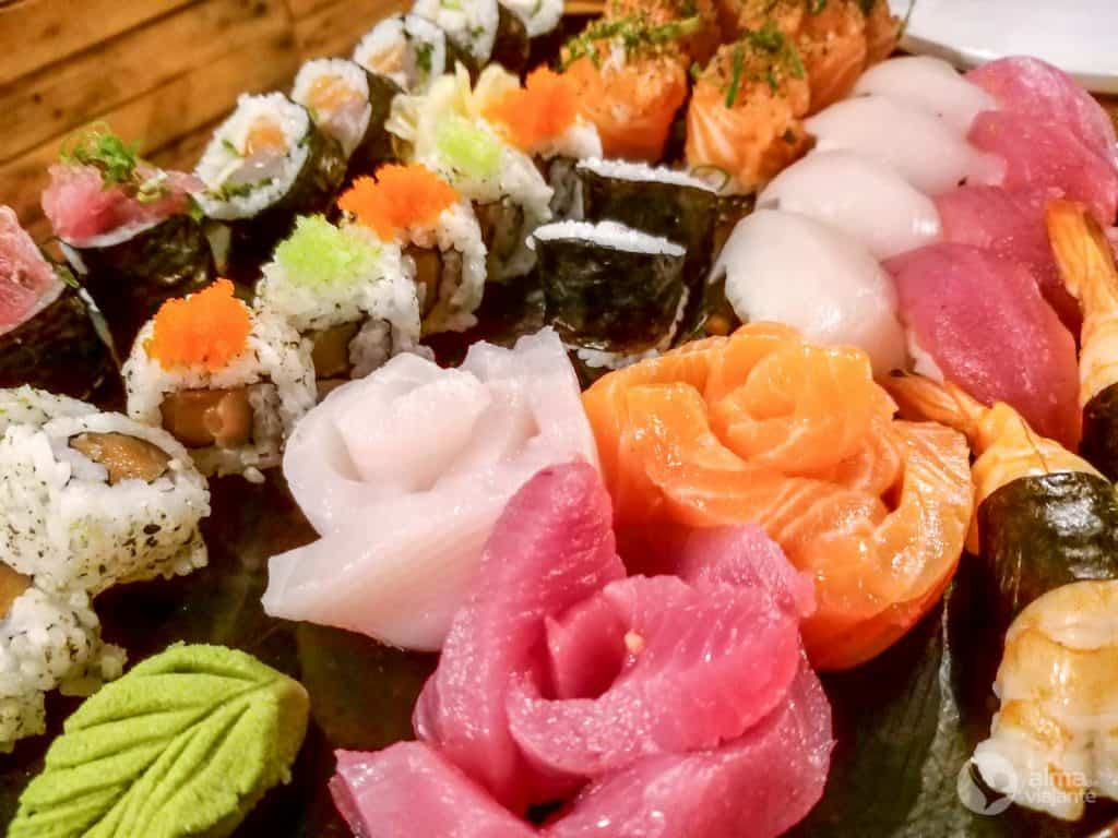 Restaurantes em Noronha: Manaka Sushi