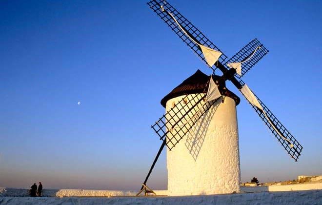 Mancha, por onde andou D. Quixote sonhando