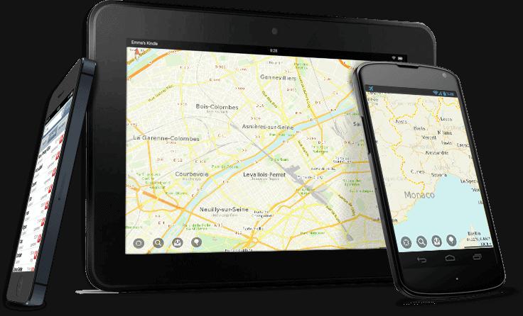 App maps me