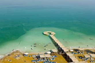 Resort no Mar Morto