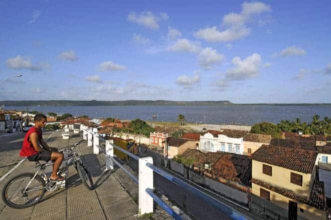Vista de Marechal Deodoro, cidade-berço do proclamador da República do Brasil