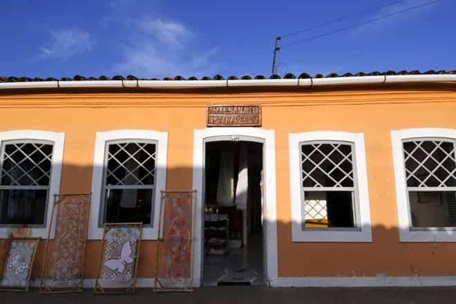 Artesanato filé, em Marechal Deodoro