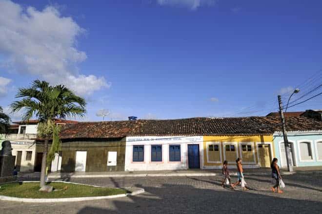 Marechal Deodoro é uma povoação muito atractiva e colorida