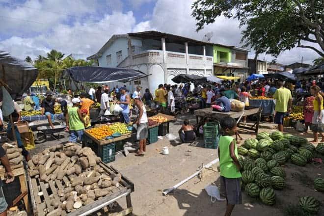 Marechal Deodoro em dia de mercado