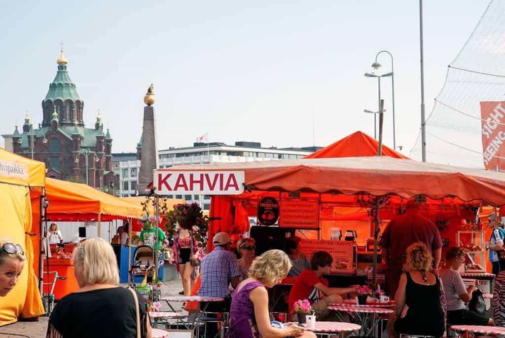 Market Square em Etelasatama, Helsínquia