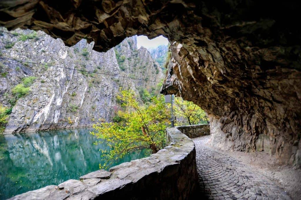 Canyon Matka, Makedoonia
