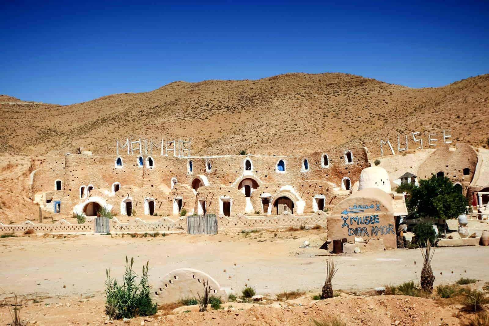 Trogloditsko selo Matmata, Tunis