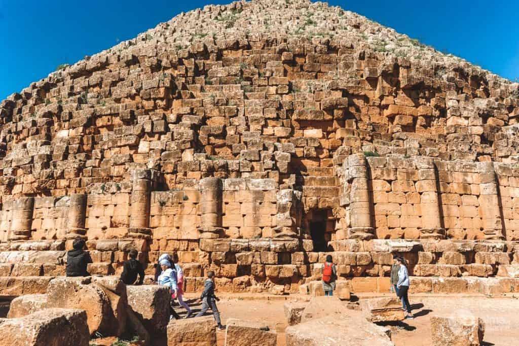 Visitar Tipasa: Túmulo de Juba II e Cleopatra Selene II