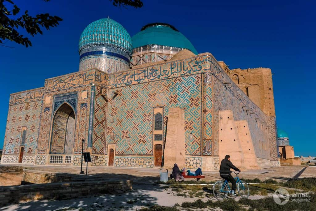 Kazakhstan World Heritage Site: Khoja Mausoleum Ahmed Yasawi