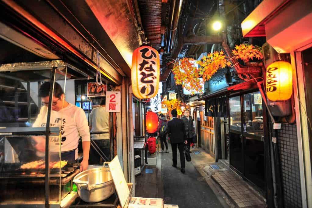 O Piss Alley de Tóquio, Shinjku