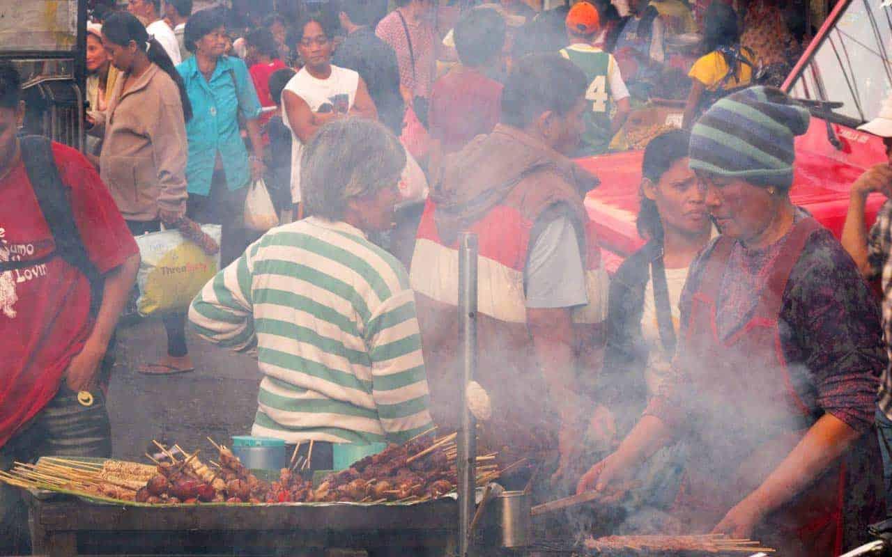 Mercado de Baguio, Filipinas