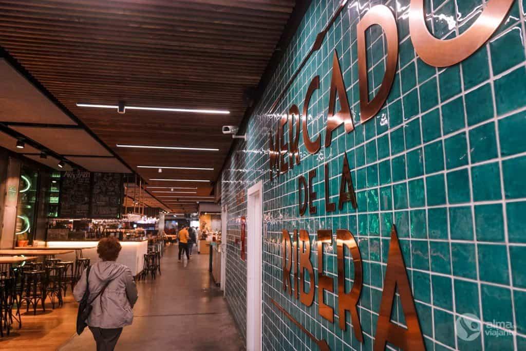 O que fazer em Bilbau: visitar Mercado da Ribeira