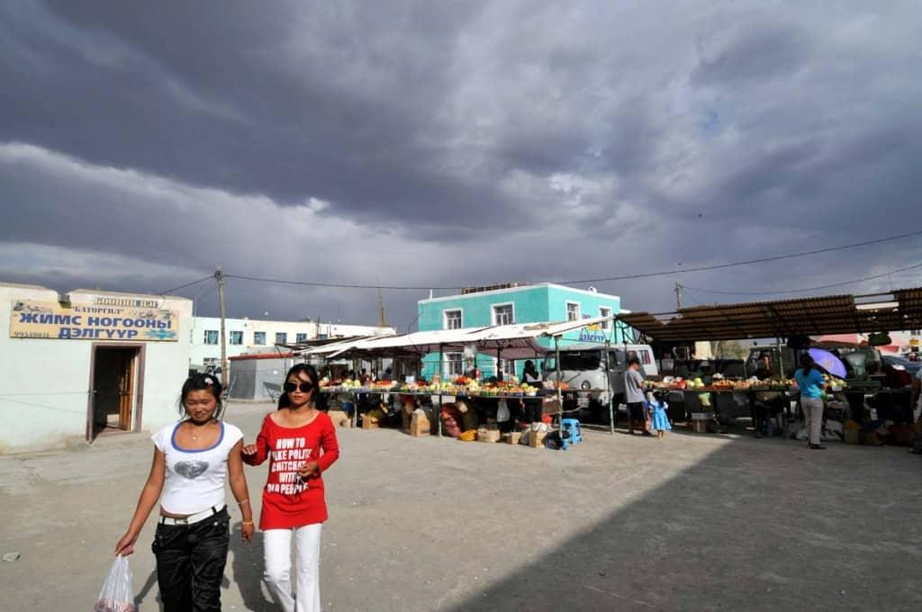 Mercado de Dalanzadgad, Mongólia