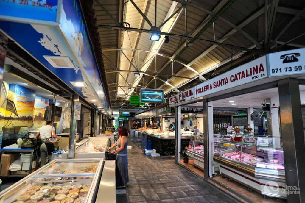 Visitar Palma de Maiorca: Mercado de Santa Catalina
