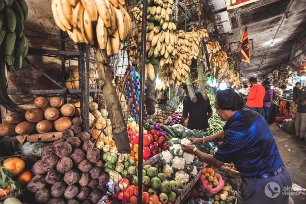 Mercado de Nuwara Eliya