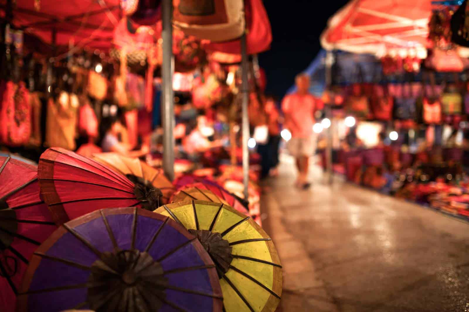 Night Market, Laos