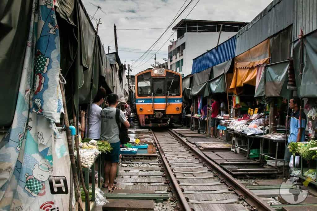 Mercado Mae Klong Bangkok