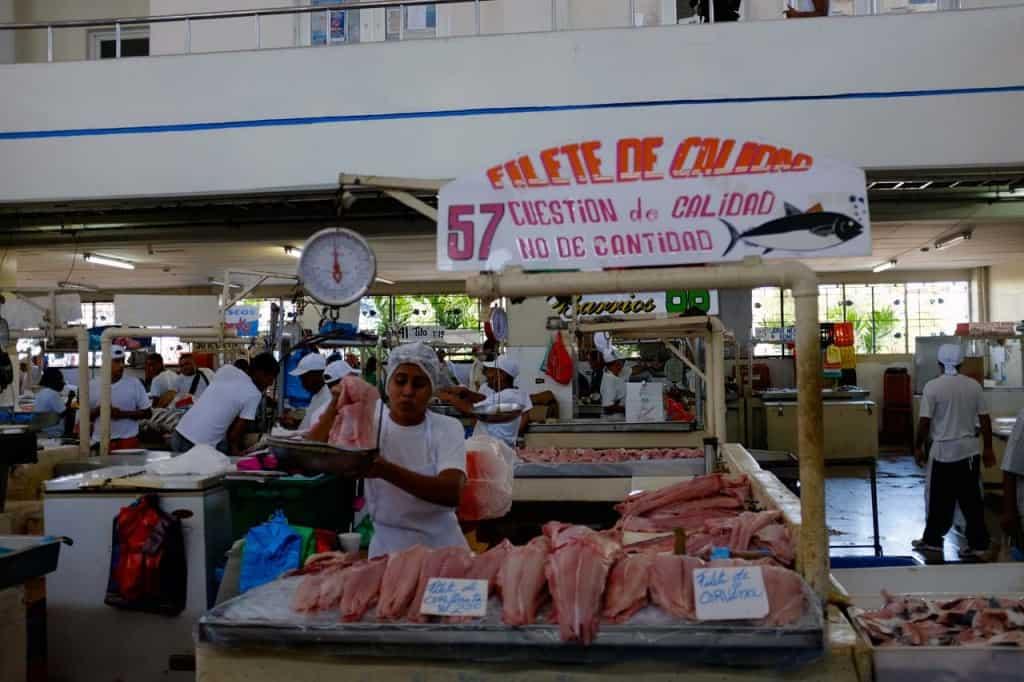 Mercado de marisco, Cidade do Panamá