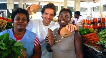 Chef Kiko Martins em Moçambique