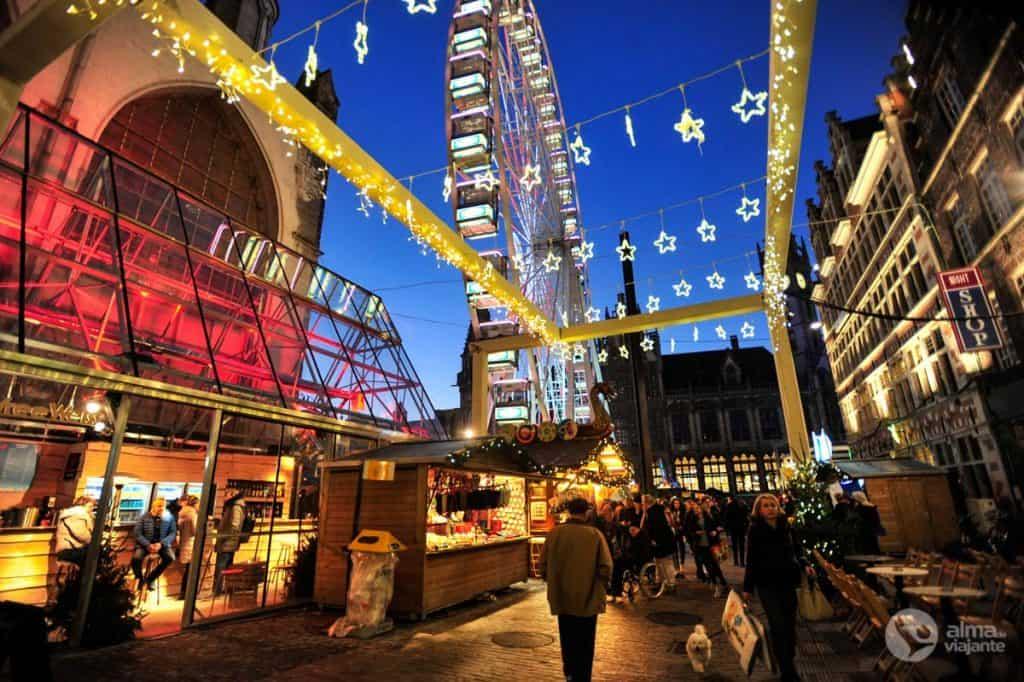 Mercados de Natal de Ghent