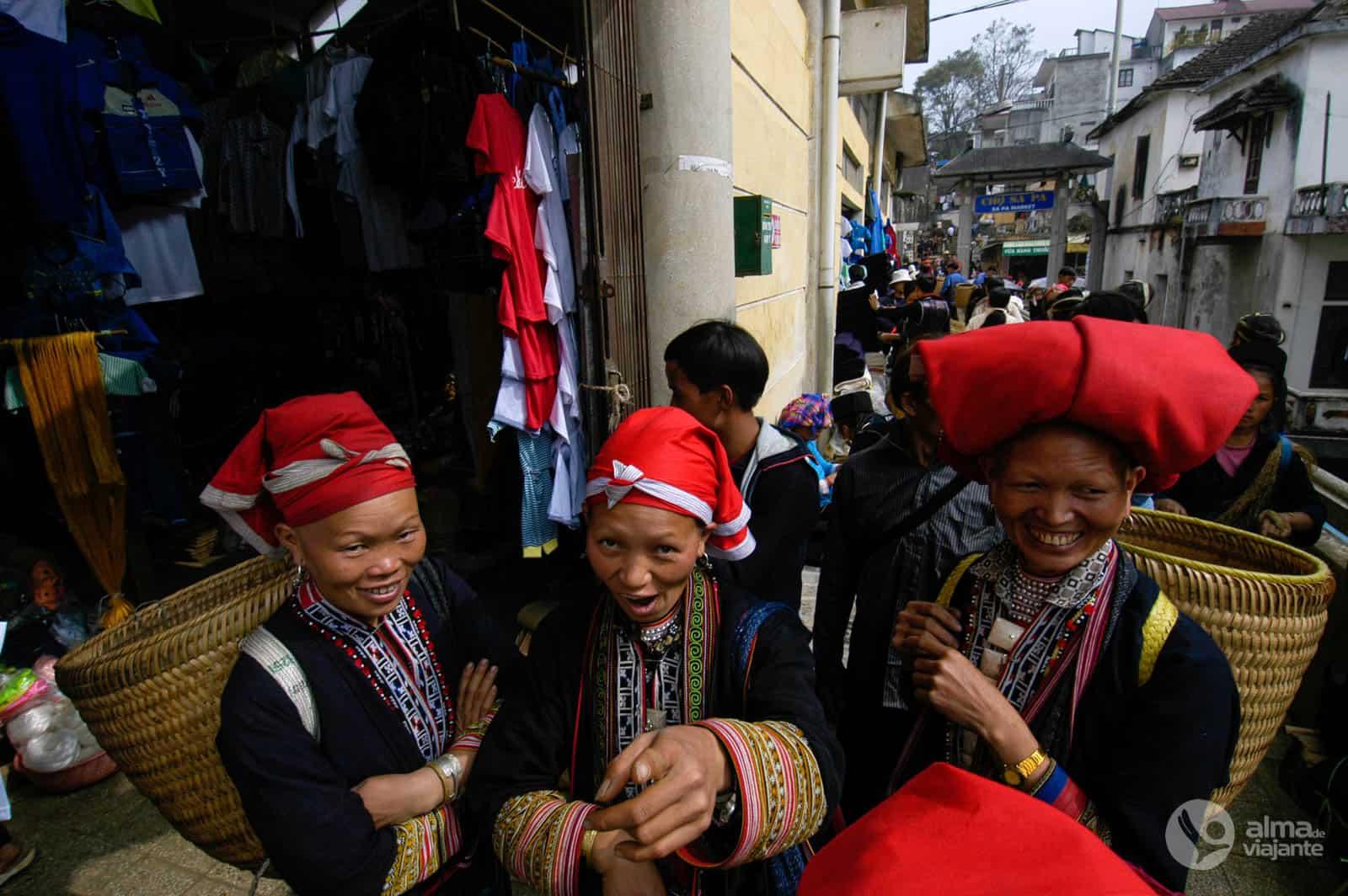 Mercado de Sapa, Vietname