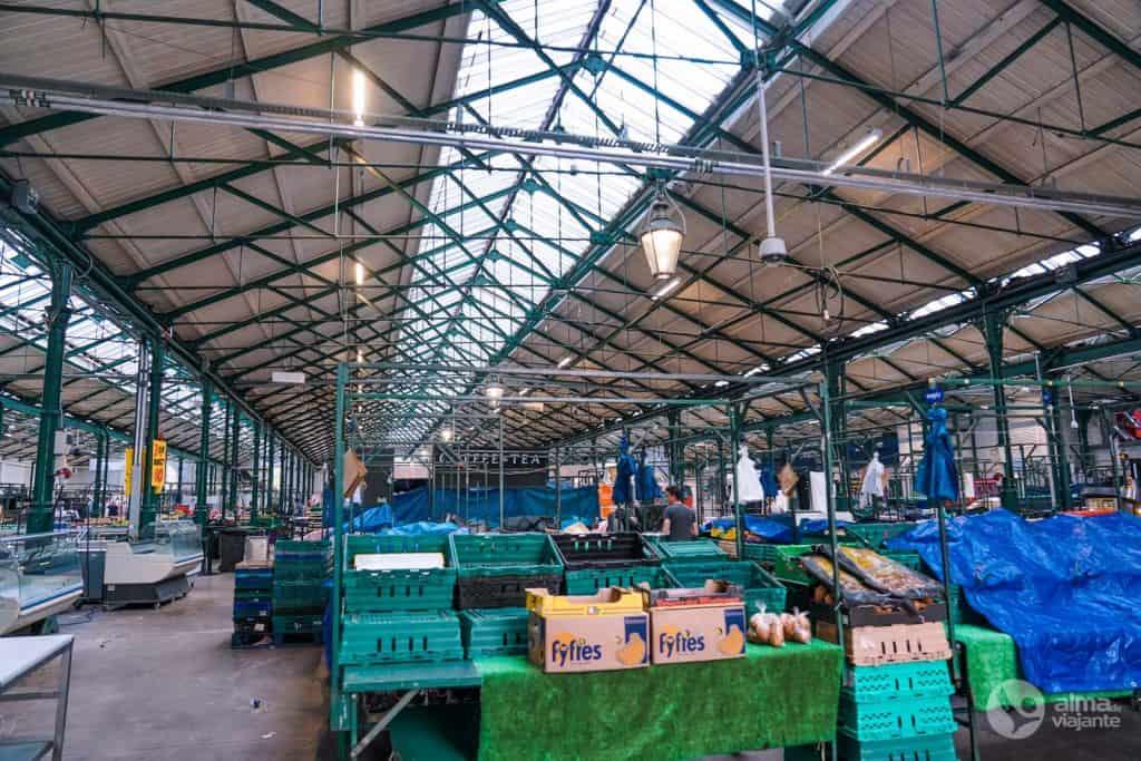 O que fazer em Belfast: visitar Mercado de St. George