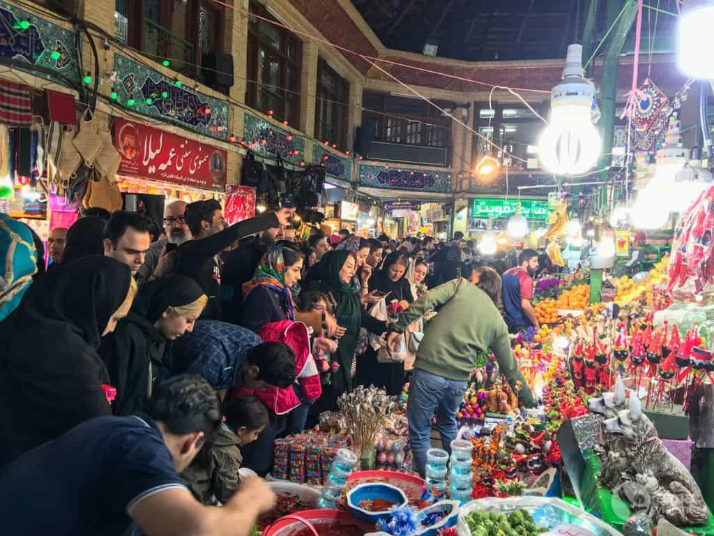 Mercado de Tajrish, Teerão