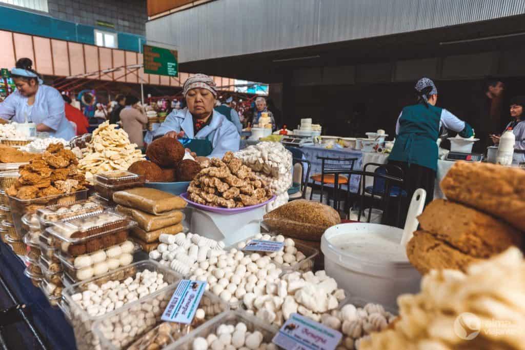 阿拉木图活动:访问Zelenyy Bazar