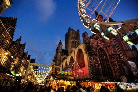 Mercado Natal Bruxelas