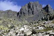 Trekking a turistika: Mercantour, Alpy, Francie