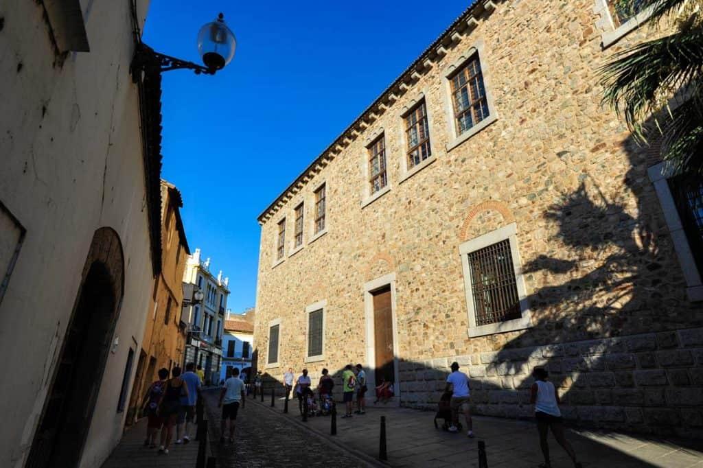 Rua do centro histórico de Mérida