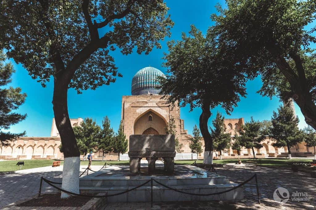 Mesquita Bibi-Khanym, Samarcanda