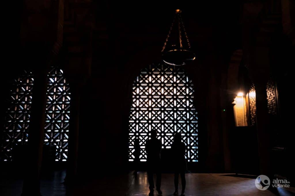Tourists in the Mosque of Cordoba