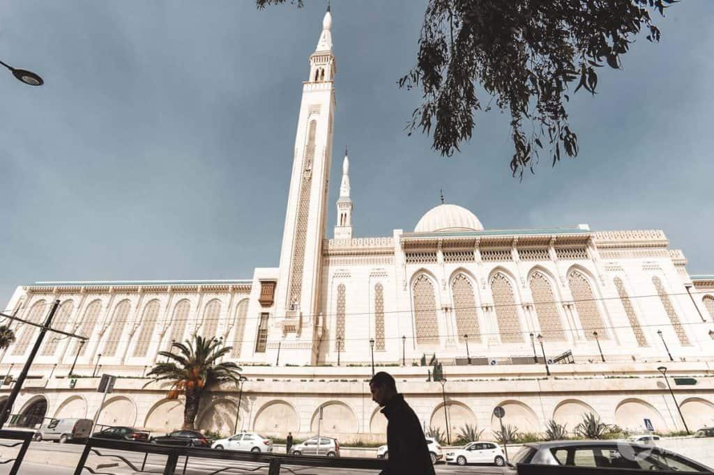 O que fazer em Constantine: visitar mesquita Emir Abdelkader