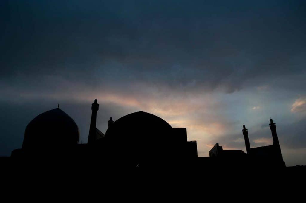 Mesquita em Esfahan, Irão