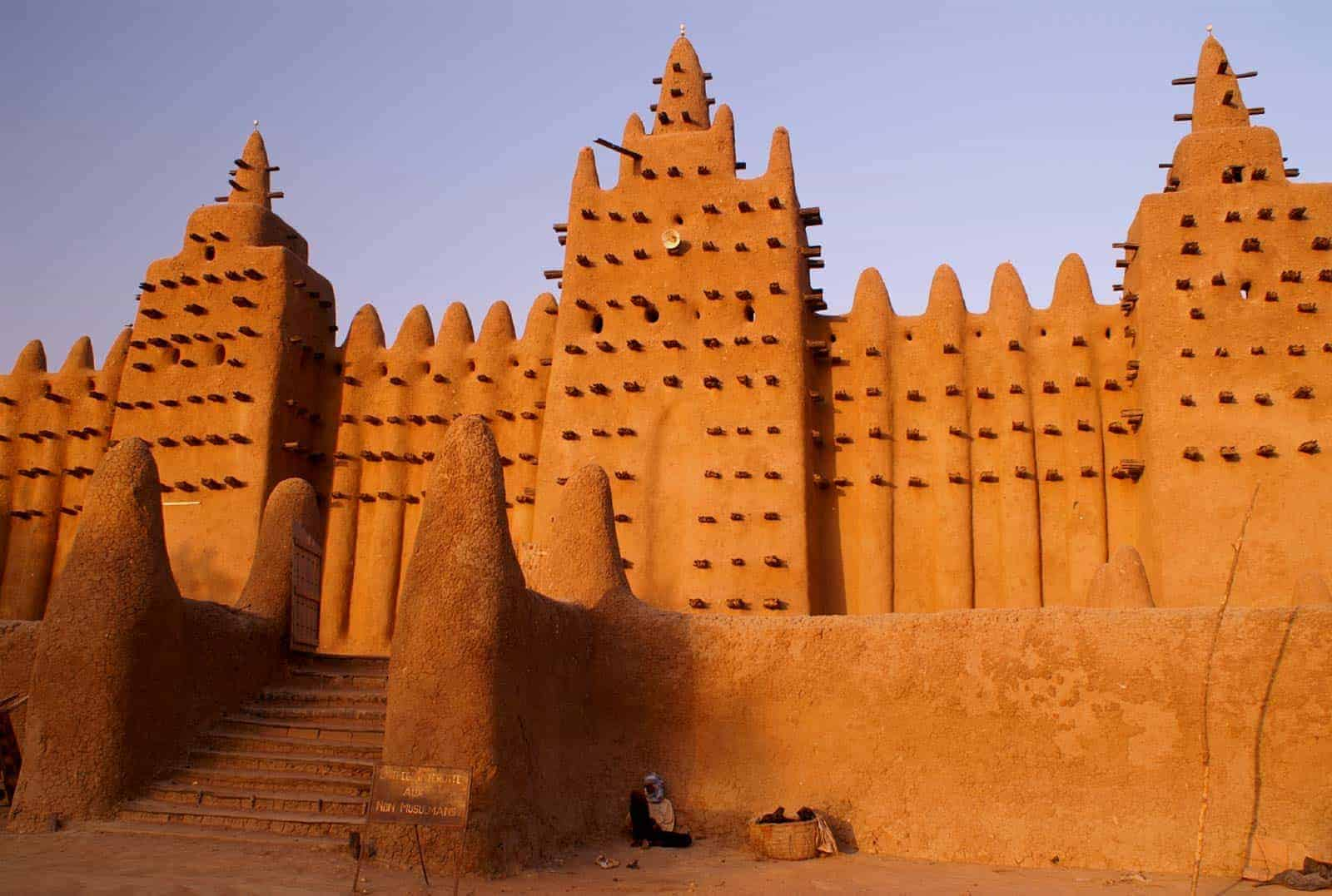 Mesquita Loam, Djenné, Mali