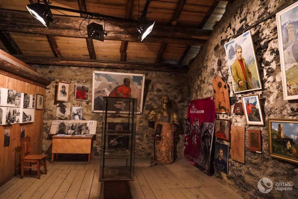 Museu em Mestia: Mikhail Khergiani
